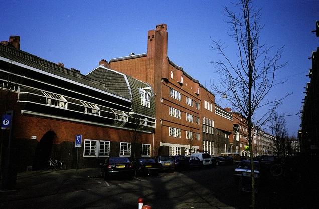 Spaarndammerbuurt in Westerpark, Amsterdam