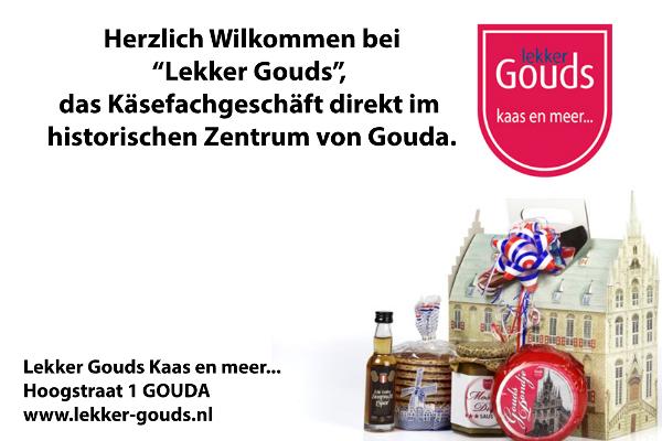Gewinnspiel vom Niederlandeblog: Lekker Gouds - Käse & Stroopwafels aus Gouda