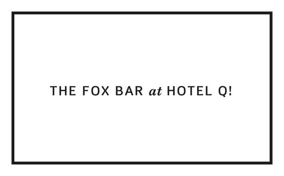 Fox Bar im Hotel Q!