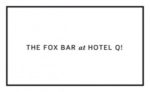 Logo Fox Bar im Hotel Q!