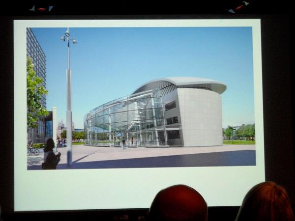 das zukünftige van Gogh Museum (Eröffnung im Sommer 2015)