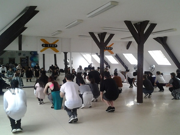 Choreographie üben für BLAZE