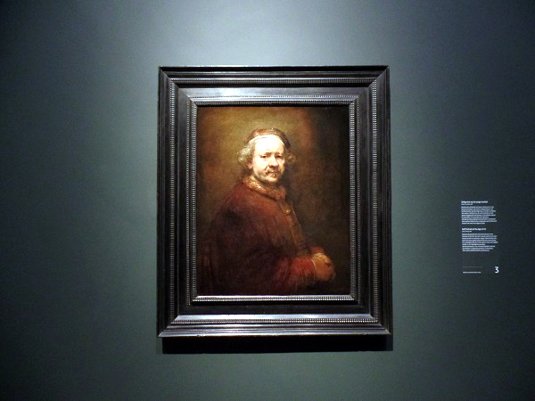 Selbstbildnis; Late Rembrandt