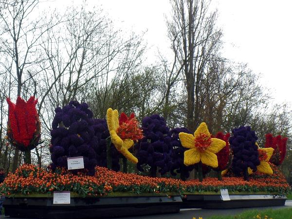 Holländische Ikonen vom Keukenhof Blumenkorso 2015