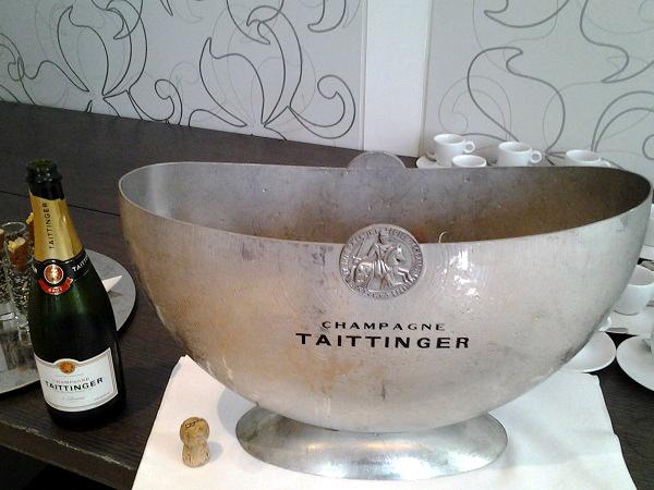 Champagner in der Hermitage Amsterdam