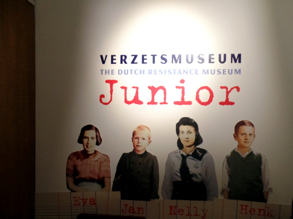 Verzetsmuseum Junior in Amsterdam