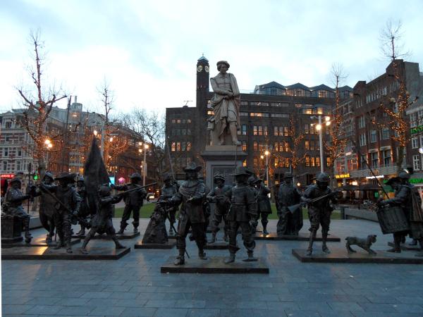 Rembrandtplein in Amsterdam