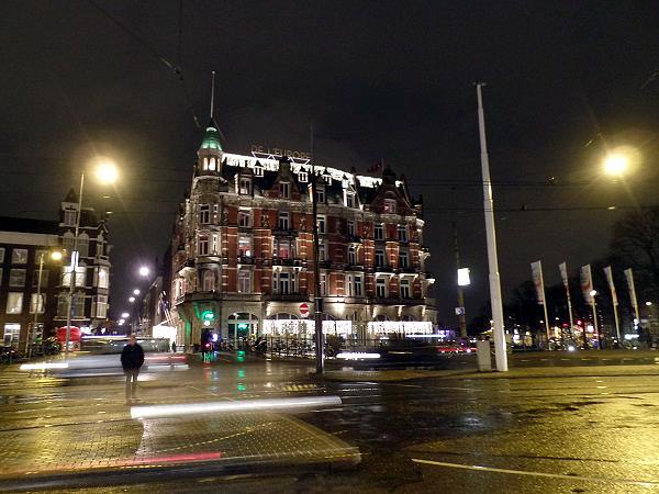 Hotel L'Europe während Amsterdam Light