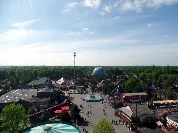 Überblick über den Freizeitpark Slagharen