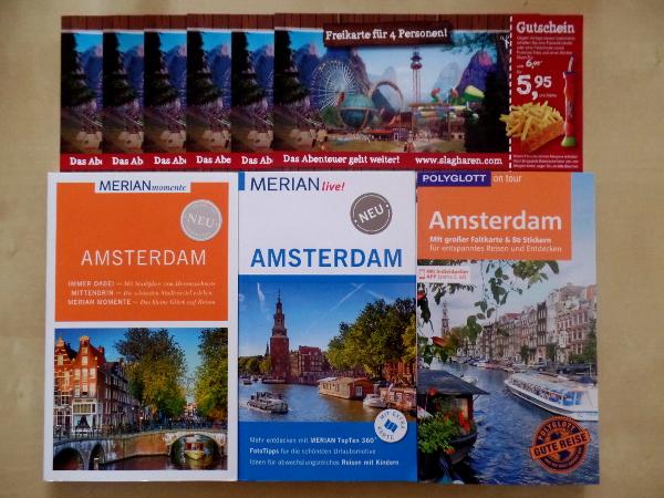 """Preise für das Gewinnspiel """"3 Jahre Niederlandeblog"""""""