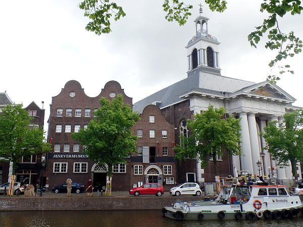 Jenevermueum & Havenkerk in Schiedam
