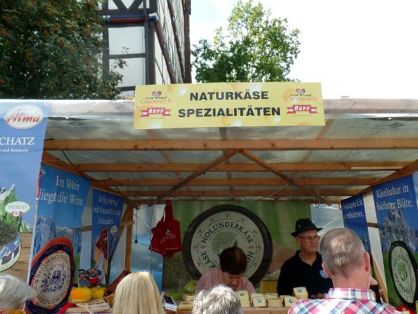 Holunderkäse aus AT auf dem Käsemarkt in Nieheim