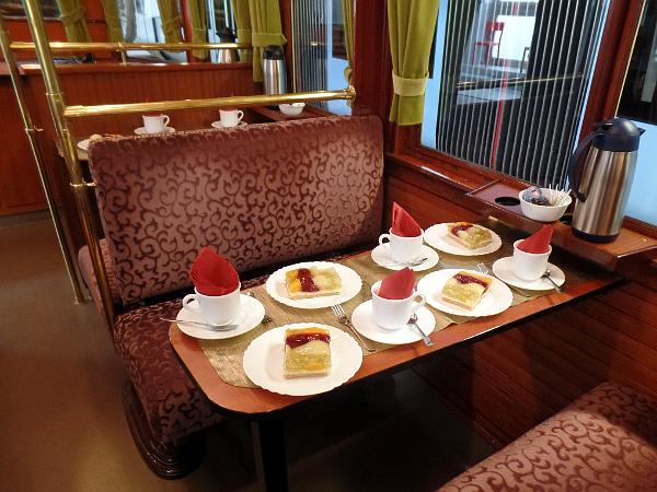 Kaffeeklatsch op de keizerwagen in Wuppertal
