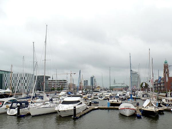 Jachthafen in Bremerhaven