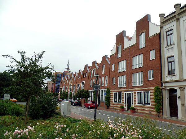 niederländische Giebelhäuser in Bremerhaven