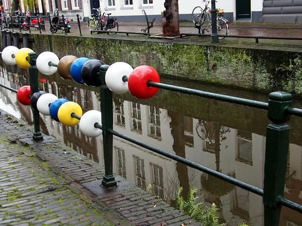 Mondriaanhuis - Kunstroute auf dem Wasser von Amersfoort