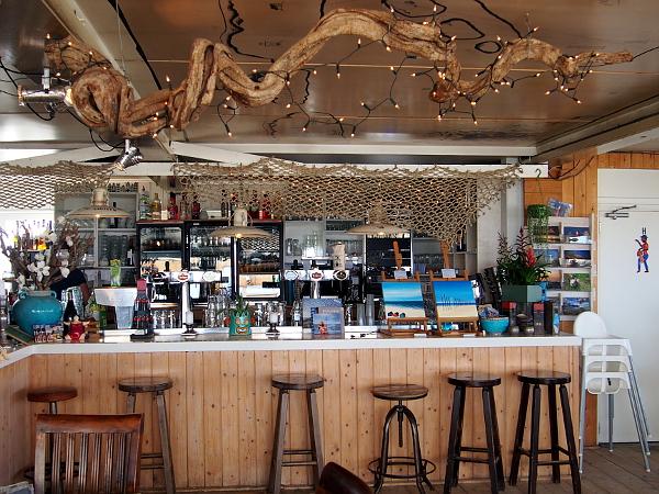 Strandrestaurant Kaap Noord auf Texel