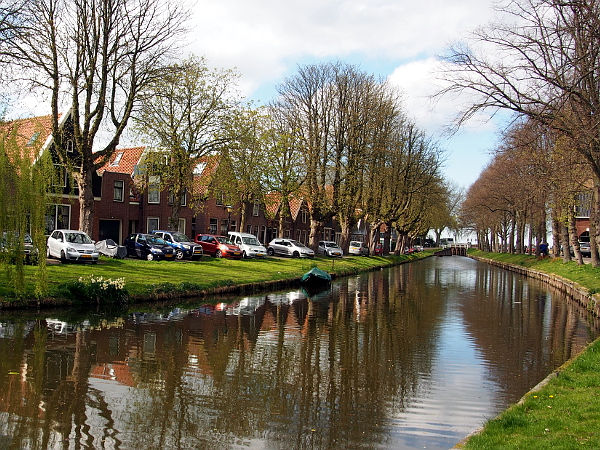 Gracht in Edam