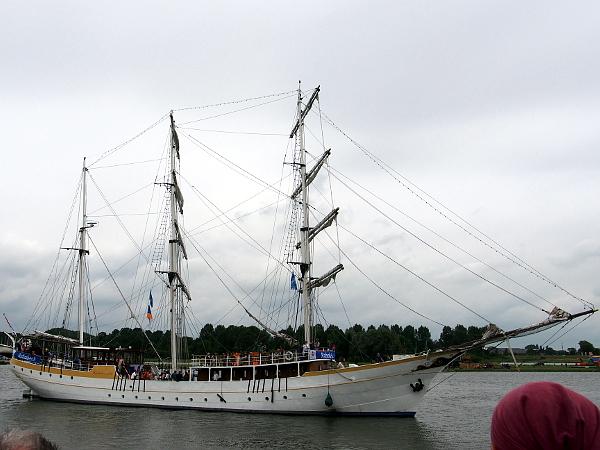Segelschiff auf der Hanse 2017
