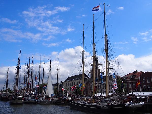 auf der Hanse 2017 (Hanzedagen) in Kampen