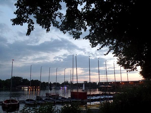 IJsselmeer sfeer bij het Maschsee in Hannover