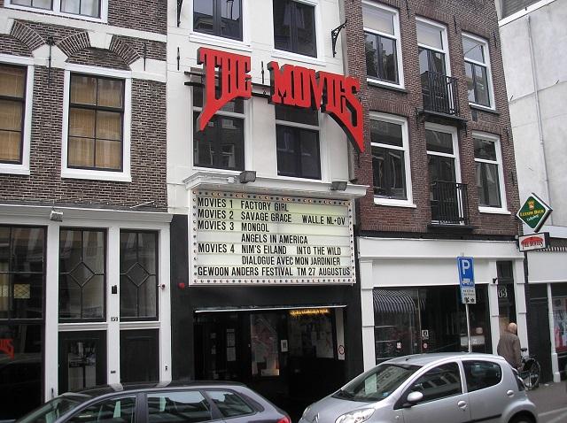 The Movies - das älteste Kino von Amsterdam im Haarlemmerbuurt