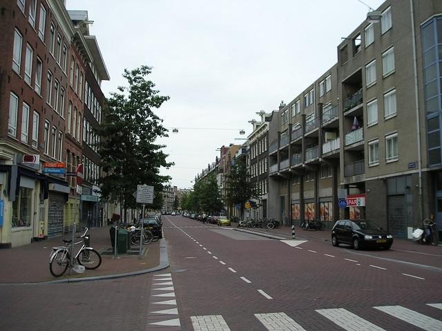 Spaarndammerstraat in Amsterdam