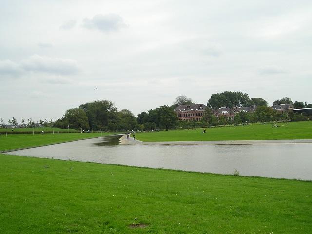 Blick über das Gelände der Westergasfabriek, Amsterdam