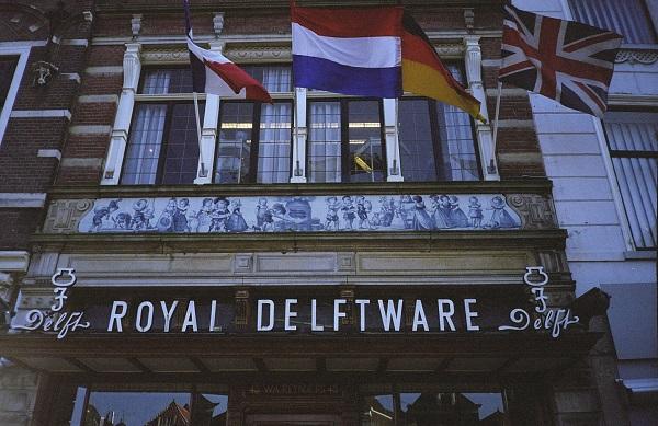 das weltberühmte Delfter Porzellan Delft Blauw