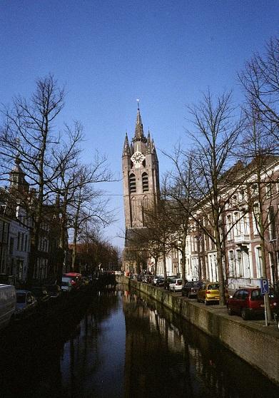 die alte Gracht - oude Gracht in Delft