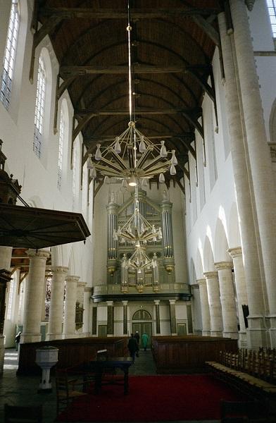 die alte Kirche - oude kerk in Delft