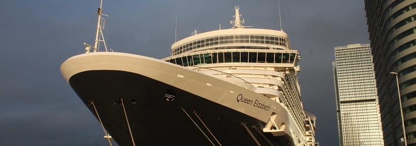 Die Queen in Rotterdam