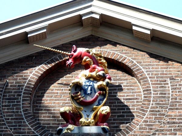 Symbol von Hoorn - das Einhorn