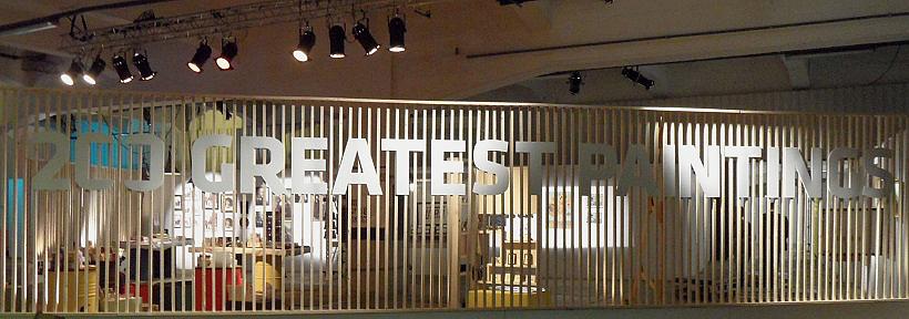 """die Ausstellung """"200 paintings"""" in Rotterdam"""