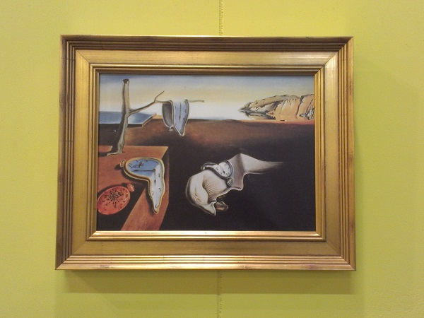 Salvator Dali, Die zerrinnene Zeit, 200 greatest paintings Rotterdam