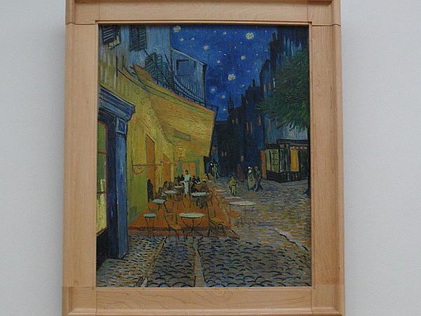 Vincent van Gogh, Cafeterrasse am Abend, 1888, Kröller-Müller Museum