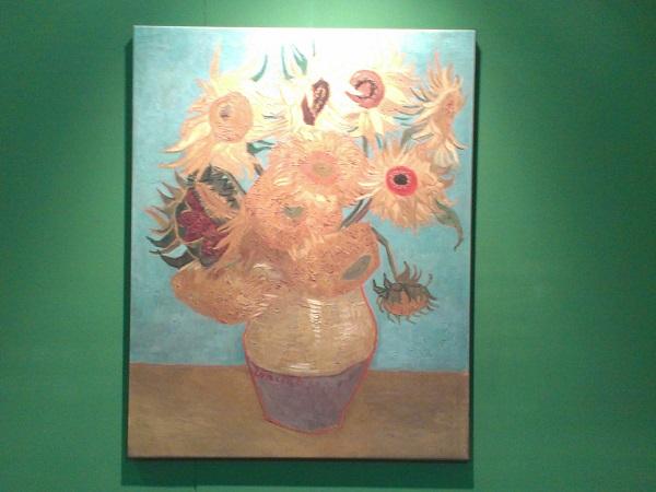 Vincent van Gogh, Zonnebloemen, 200 greatest paintings Rotterdam