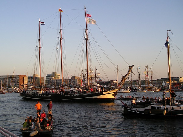 SAIL 2005 in Amsterdam