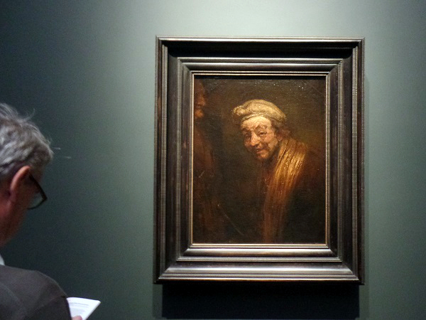 Selbstbildnis als Zeuxis, Late Rembrandt