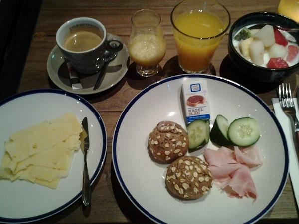 Frühstück im Stadshotel Woerden