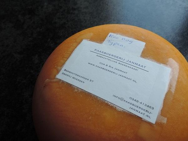 frisch angekommender Käse aus Woerden