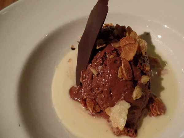 Dessert des Walking Dinner: Hemelse Moeder im Restaurant De Plantage
