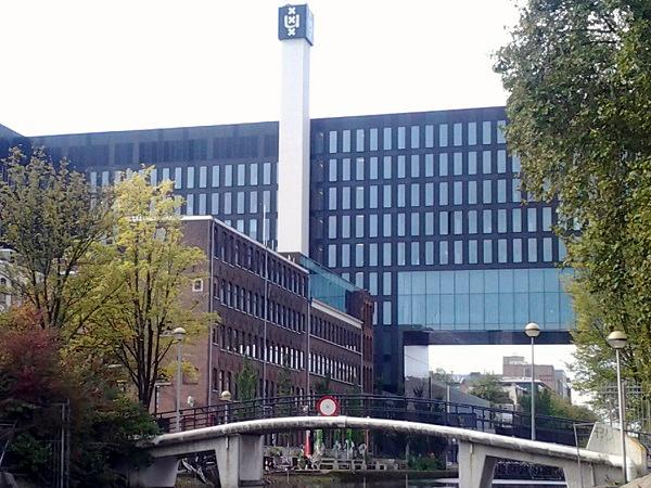 UvA im Stadtviertel Plantage in Amsterdam Ost