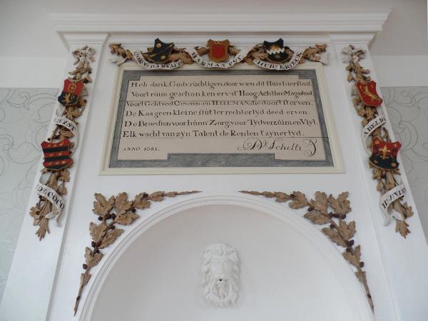 im Saal der Hermitage Amsterdam