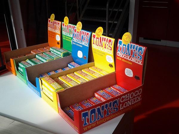 Tony's leckere Schokolade