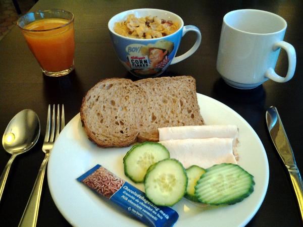 Frühstück im Campanile Gouda