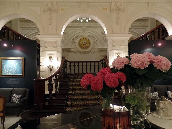 Lobby im Amstel Hotel
