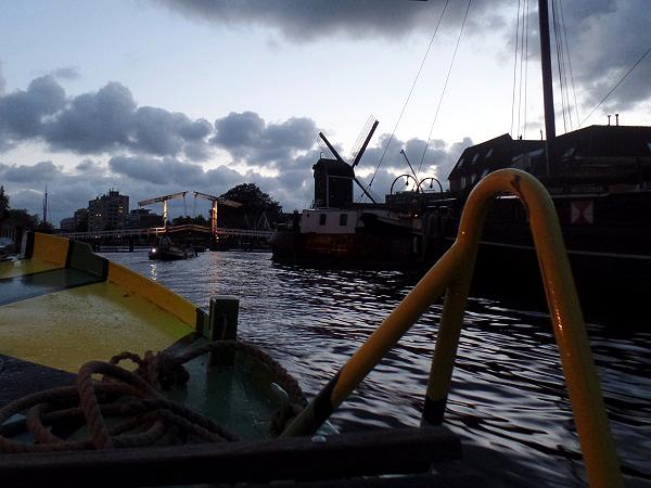 Abendromantik in Leiden