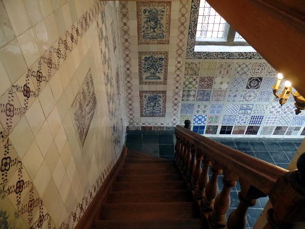 Fliesenzimmer im Couven-Museum in Aachen