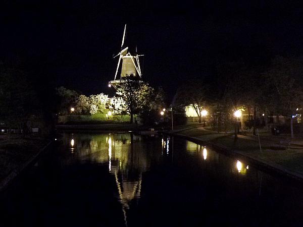 Mühle in Leiden bei Schemerstad